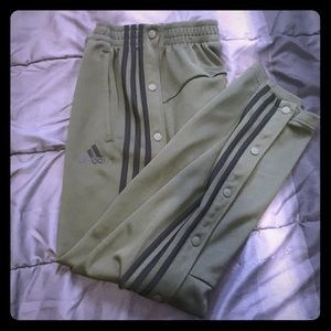 Adidas snap pants